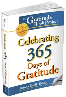 Celebrating 365 days of Gratitude Book